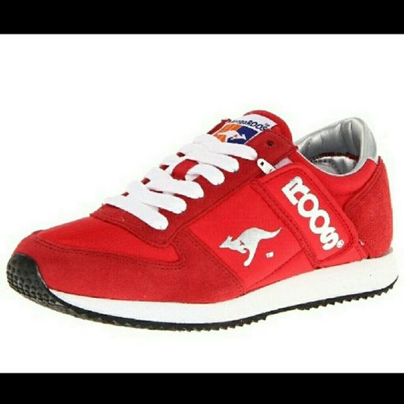 Roos [KangaROOS] Red Sneakers